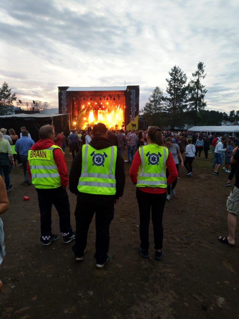 Beredskap treungen festival